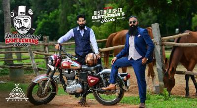 The Distinguished Gentleman's Ride - Bangalore 2018