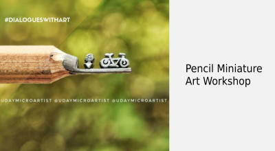 Pencil Miniature by Uday