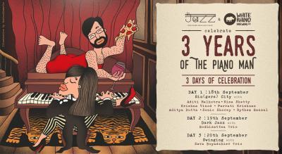 The Piano Man Jazz Club 3 Year Anniversary