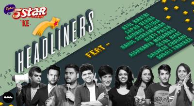 5 Star ke Headliners Ft Aishwarya, Atul, Neeti, Rahul, Sapan, Shankar, Sejal, Sonali, Vaibhav