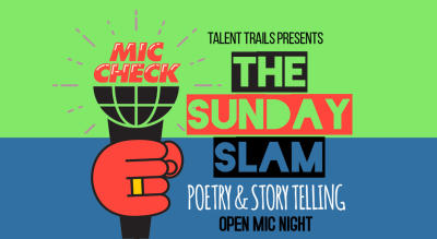Poetry/Storytelling Open Mic Event