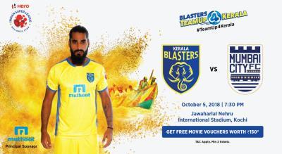 HERO Indian Super League 2018-19: Kerala Blasters FC vs Mumbai City FC