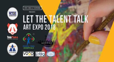 Let The Talent Talk : Art Expo