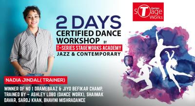 2 Day Certified Dance Workshop: Jazz & Contemporary (Beginners Level)