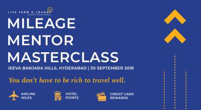 Mileage Mentor MasterClass, Hyderabad