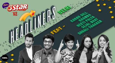 5 Star ke Headliners ft Gursimran Khamba, Kanan Gill, Neeti Palta, Sejal Bhat, Sonali Thakker