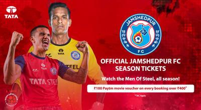 HERO Indian Super League 2018-19: Jamshedpur FC Season Tickets