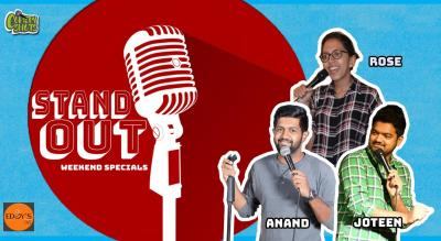 Stand Out- Weekend Comedy Special 9.0