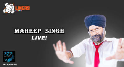 Punchliners: Standup Comedy Show ft. Maheep Singh in Jalandhar