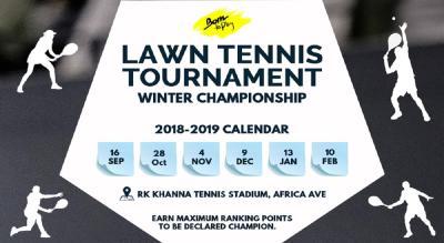 Born To Play Lawn Tennis Winter Championship