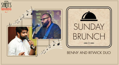 Sunday Brunch With Live Music by Benny & Ritwick Duo