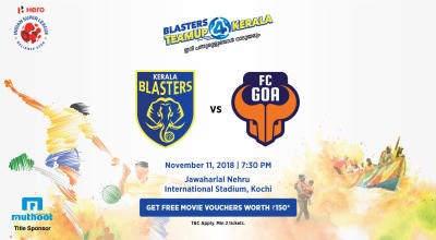 HERO Indian Super League 2018-19: Kerala Blasters FC vs FC Goa