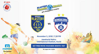 HERO Indian Super League 2018-19: Kerala Blasters FC vs Bengaluru FC