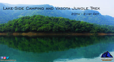 Vasota Jungle Fort - Lakeside camping | Trekking | Wilderness excursion