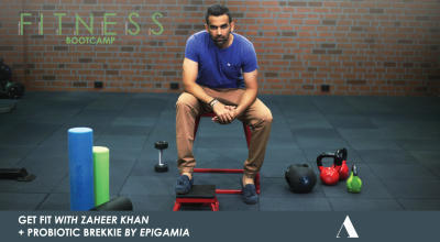 Bootcamp With Zaheer Khan + Probiotic Brekkie By Epigamia