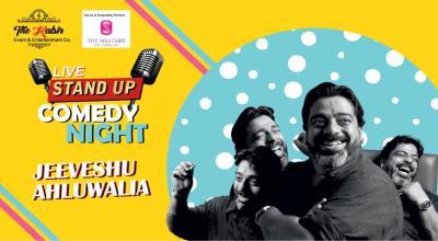 Standup Comedy Show ft. Jeeveshu Ahluwalia in Dehradun