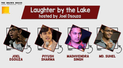 Laughter by the Lake hosted by Joel Dsouza