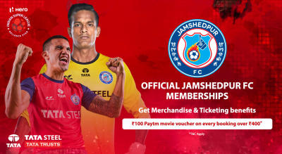 HERO Indian Super League 2018-19: Jamshedpur FC Membership