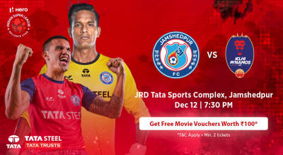 HERO Indian Super League 2018-19: Jamshedpur FC vs Delhi Dynamos FC