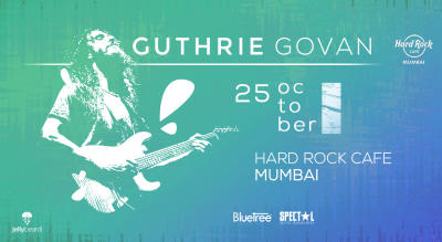 Guthrie Govan with Mohini Dey and Gino Banks