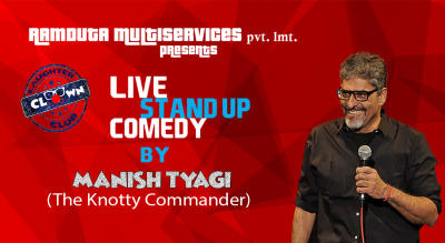 Stand Up Comedy with Manish Tyagi