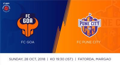 Hero Indian Super League 2018-19: FC Goa Vs FC Pune City