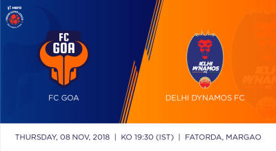 Hero Indian Super League 2018-19: FC Goa Vs Delhi Dynamos FC