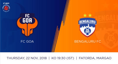 Hero Indian Super League 2018-19: FC Goa Vs Bengaluru FC