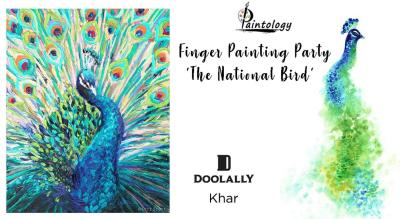 Finger Painting Party by Paintology -'The National Bird'