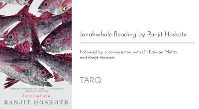 Reading of Jonahwhale by Ranjit Hoskote
