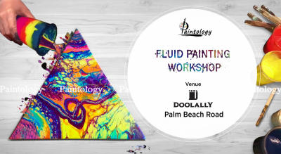 Fluid Painting Workshop by Paintology at Vashi