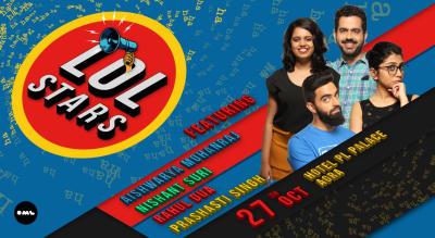 LOLStars feat Aishwarya Mohanraj, Nishant Suri, Prashasti Singh and Rahul Dua, Agra
