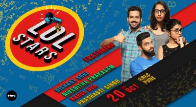 LOLStars feat Nishant Suri, Niveditha Prakasam, Prashasti Singh and Rahul Dua Pune
