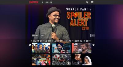Spoiler Alert 2018 by Sorabh Pant