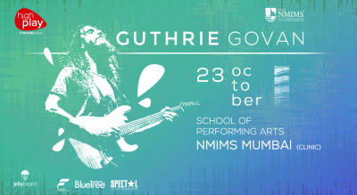 Guitar Clinic with Guthrie Govan