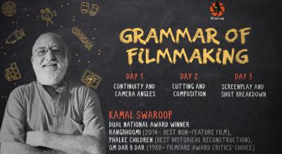 'Grammar of Film Making' by Kamal Swaroop