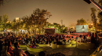 Open Air Cinema // Halloween Weekend