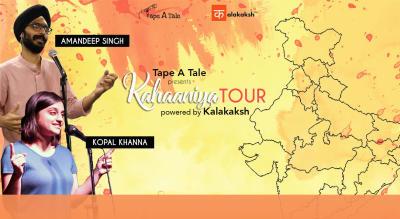 Kahaaniya Tour by Tape A Tale, Delhi