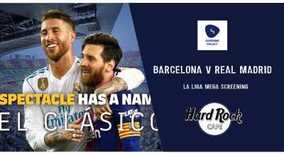 Barcelona v Real Madrid   El Clasico Screening HRC Bangalore