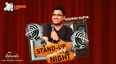 PunchLiners: Standup Comedy Show ft. Gaurav Gupta in Delhi