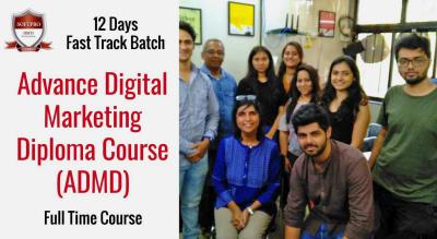 12 Days Fast Track Digital Marketing Course | Full Time Batch