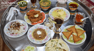 Authenticook presents Homemade Bohri Meal
