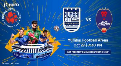 Hero Indian Super League 2018-19: Mumbai City FC vs Delhi Dynamos FC