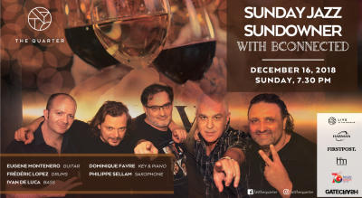 Sunday Jazz Sundowner with Bconnected at The Quarter