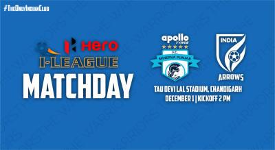 Hero I-League 2018-19: Minerva Punjab FC vs Indian Arrows