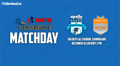 Hero I-League 2018-19: Minerva Punjab FC vs Chennai City FC