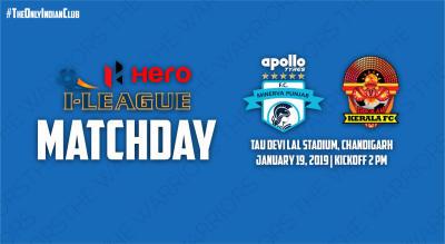 Hero I-League 2018-19: Minerva Punjab FC vs Gokulam Kerala FC