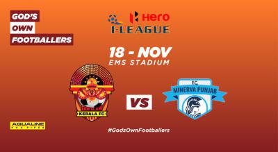 Hero I-League 2018-19:  Gokulam Kerala FC vs Minerva Punjab FC