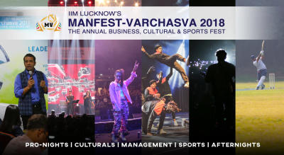 IIM Lucknow's Manfest Varchasva