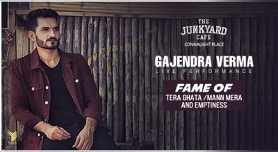 Gajendra Verma Live at Junkyard Café CP